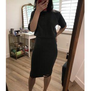 NWOT NSF Washed Black Dress